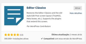 editor-classico-wordpress