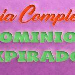 Guia Completa sobre dominios expirados