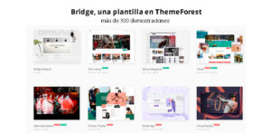 Bridge, una plantilla en ThemeForest