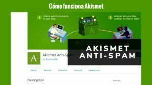Cómo funciona Akismet