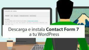 Descarga e instala Contact Form 7 a tu WordPress