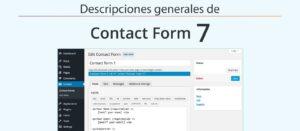 Descripciones generales de Contact Form 7