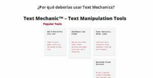 Por qué deberías usar Text Mechanics