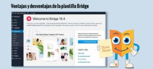Ventajas y desventajas de la plantilla Bridge