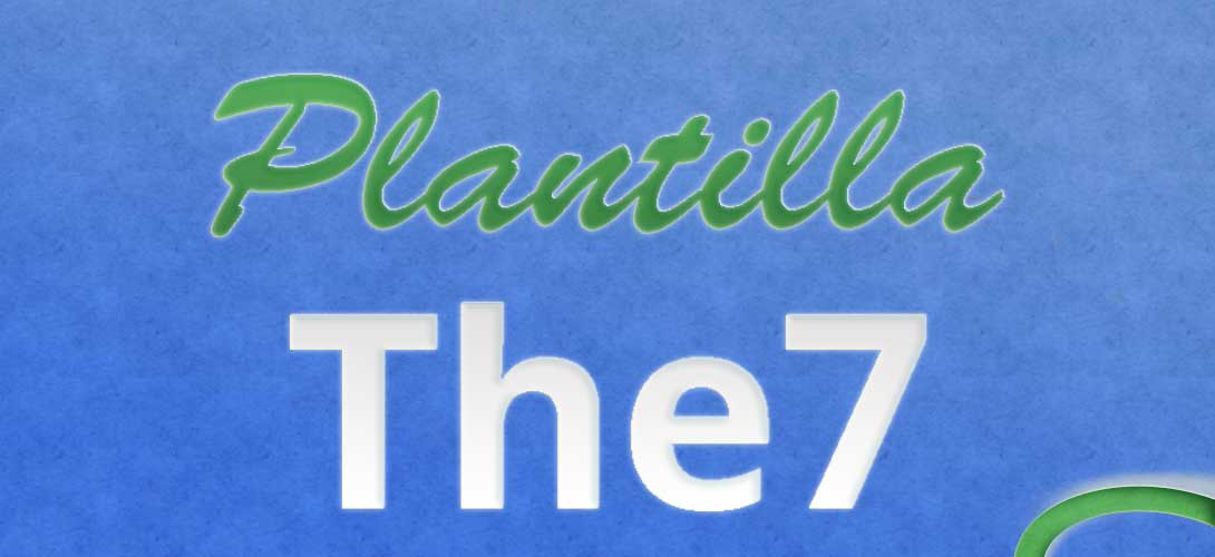 Plantilla The7